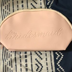 Bridesmaid Pink Pouch (4)